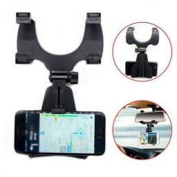 Suporte Carro Veicular Retrovisor CJ-1001 Celular Smarthphone Gps Uber Taxi