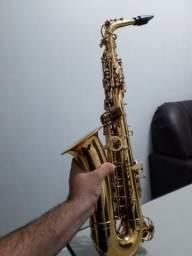 Saxofone usado em bom estado, dolphin
