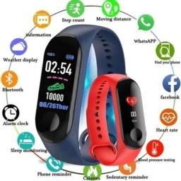 Relógio Inteligente Smartband M3 Bluetooth
