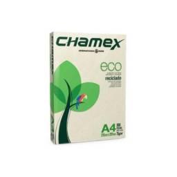 Papel Sulfite Reciclado A4 75g Eco Chamex com 500 Folhas