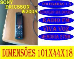 Celular Sony Ericsson Usado C/marcas Liga Bateria Viciada