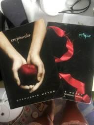 Livros Crepúsculo e Eclipse