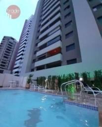 Apartamento com 3 dormitórios para alugar, 128 m² por R$ 2.000,00/mês - Centro - Ribeirão
