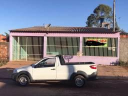 Casa três quartos quitada Aguas lindas setor 9 lote 468 metros