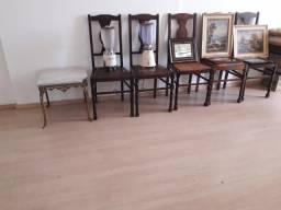 Cadeiras Antigas Vintage Ano 1930 para Coleção