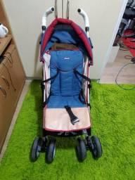 Carrinho de bebê dobravel, reclinavel e off-road da Chicco
