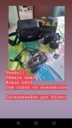 Câmera semi Nikon L810 NOVA