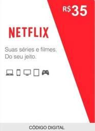 Netflix Gift Card (Cartão de presente)
