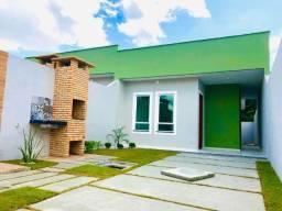 JP casa nova com arquitetura atual com 3 quartos 2 banheiros com fino acabamento