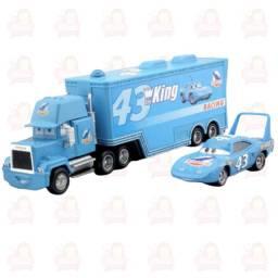 Título do anúncio: Caminhão + carro The King Rei dinoco kit