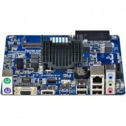 Mini placa ipx 1800gs intel pcwares ddr3 hdmi