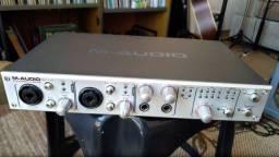 Interface de áudio M-Audio Firewire 1814