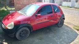 Ford Ka 98 vermelho