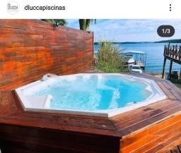 Ju - Promoção Spa Luxo 7 Lugares -Com Hidro -Aquecido -Dlucca Lagoa Santa