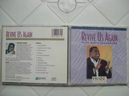 CD Alvin Slaughter ?? Revive Us Again-Genre: Folk, World, & Country Estilo: Gospel