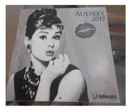 Calendário de parede 2015 Audrey Hepburn Colecionador