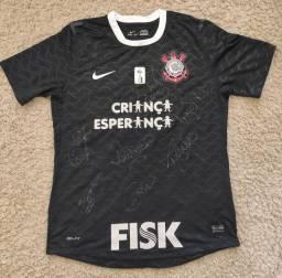 Camisa Corinthians 2012 Autógrafada