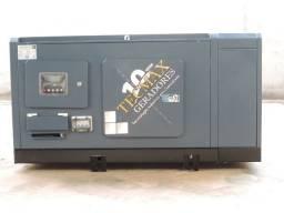 Grupo Gerador 25KVA - NOVO -Silenciado/Automático -Tecmax Geradores