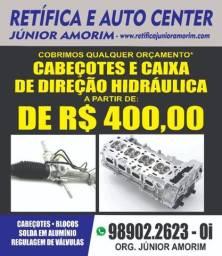 Caixa De Direção Hidreulica E Bomba De Direção/Cabeçote Corolla Etios Civic Fit Hilux