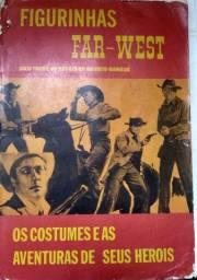 Álbum de figurinhas Far west 1968 completo