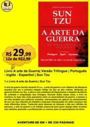 LIVRO A ARTE DA GUERRA| VERSÃO TRILÍNGUE | PORTUGUÊS - INGLÊS - ESPANHOL| SUN TZU