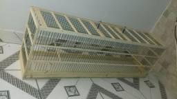 Gaiola Voador de madeira com fibra de 1 Metro