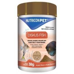 Ração para peixes Diskus Fish 38g Nutricon