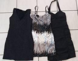 3 vestidinhos de festa