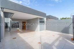 Belíssima casa térrea nova no bairro Rita Vieira - Próximo av. 3 barras! Com duas suites