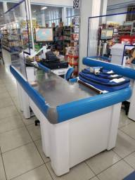 Caixa check out de Supermercados
