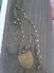 Corrente de prata banhada a ouro 150 reais