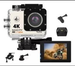 Câmera de Ação 4K Ultra HD - Na caixa