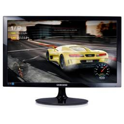 Monitor Gamer Led 24 Samsung Ls24D332HsxZd, 1Ms, 75Hz, Widescreen, Full Hd, Hdmi, D-Sub, P