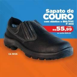 Sapato de Couro - F-SEG - Promoção R$ 55,99