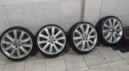 Vende-se rodas aro 18 pneu 185/35