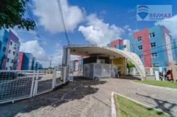 Apartamento com 2 dormitórios à venda, 47 m² por R$ 100.000,00 - Cidade Satélite - Natal/R