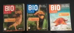 Livros de Biologia Sônia Lopes pnld 2015 vol. 1, 2 e 3