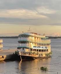 Barco de Madeira Disponível!!