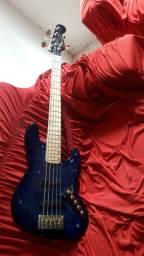 Baixo garcia´s jazz bass blue
