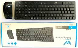 Kit Teclado e Mouse sem Fio Para Pc Computador e Note (Atacado e Varejo)