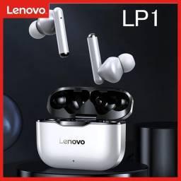 Fone com microfone Bluetooth Lenovo Original