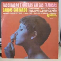 Lp Disco de Vinil Carlos Galhardo - Fascinação E Outras Valsas Famosas