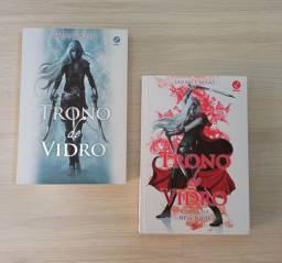 Volume 1 e 2 da série Trono de Vidro