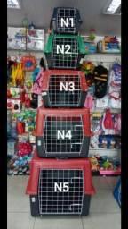 Caixas de transporte disponíveis do n.1 ao 5