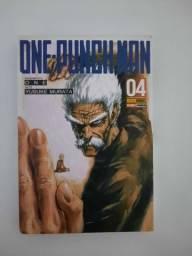 Mangá one punch man edição 4