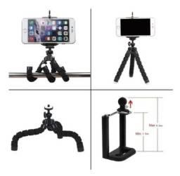 Mini Tripé Flexível e Articulado Para Celular