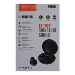 Fone De Ouvido Bluetooth H'maston Original Modelo ly-107 Pro