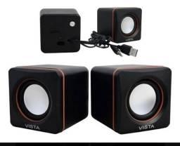 Caixa de som pra computador notebook ou celular