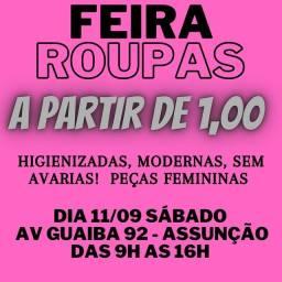 Título do anúncio: FEIRA DE ROUPAS
