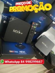 Tv box mx9 4k hd 64gb de memoria 8gb de RAM 5G 10.0